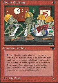 Goblin Artisans Magic Card