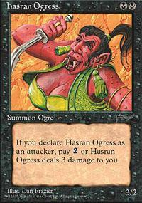 Hasran Ogress Magic Card