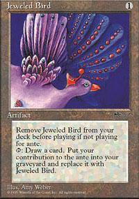 Jeweled Bird Magic Card