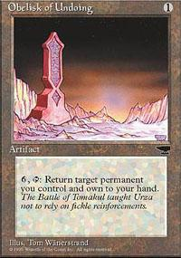 Obelisk of Undoing Magic Card