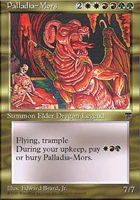Palladia-Mors Magic Card