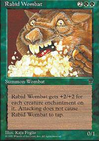 Rabid Wombat Magic Card