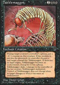 Takklemaggot Magic Card