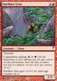 Earthen Goo Magic Card