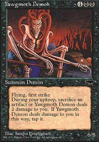Yawgmoth Demon Magic Card
