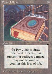 Book of Rass Magic Card
