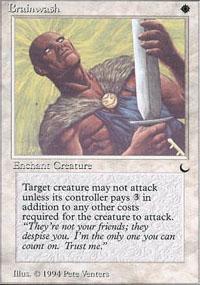 Brainwash Magic Card