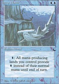 Deep Water Magic Card