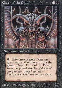 Eater of the Dead Magic Card