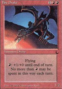 Fire Drake Magic Card