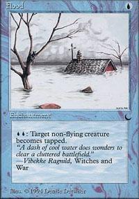 Flood Magic Card