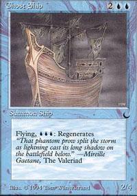 Ghost Ship Magic Card