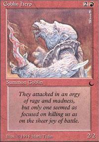 Goblin Hero Magic Card