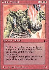 Goblin Wizard Magic Card