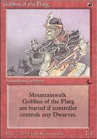 Goblins of the Flarg Magic Card