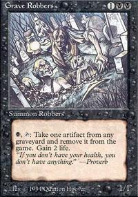 Grave Robbers Magic Card
