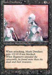 Murk Dwellers Magic Card