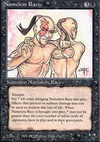 Nameless Race Magic Card