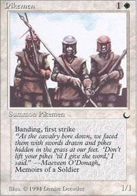 Pikemen Magic Card