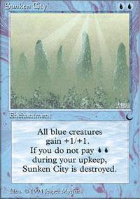 Sunken City Magic Card