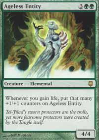 Ageless Entity Magic Card