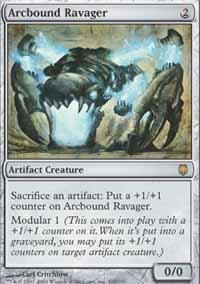 Arcbound Ravager Magic Card