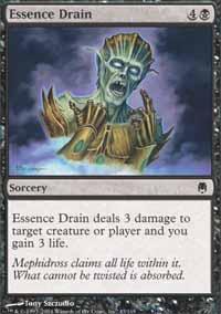 Essence Drain Magic Card