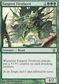 Fangren Firstborn Magic Card
