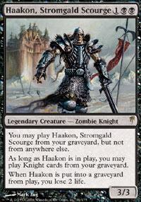 Haakon, Stromgald Scourge Magic Card