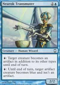 Neurok Transmuter Magic Card