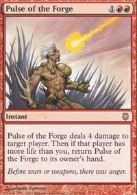 Pulse of the Forge Magic Card