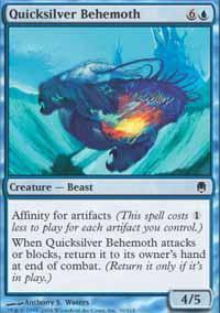 Quicksilver Behemoth Magic Card