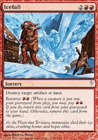 Icefall Magic Card