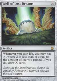 Well Of Lost Dreams Card Well Of Lost Dreams Magic The Gathering Card