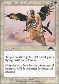 Angelic Blessing Magic Card
