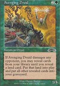 Avenging Druid Magic Card