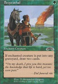Bequeathal Magic Card
