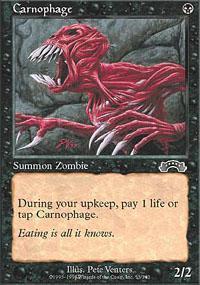 Carnophage Magic Card