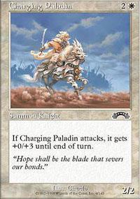 Charging Paladin Magic Card