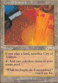 City of Traitors Magic Card