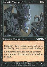 Dauthi Warlord Magic Card