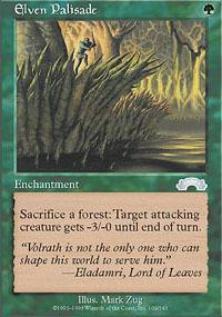 Elven Palisade Magic Card