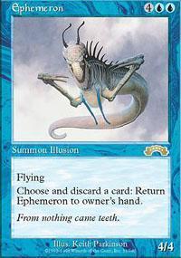 Ephemeron Magic Card
