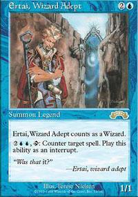 Ertai Wizard Adept NM MTG Exodus Magic Gathering