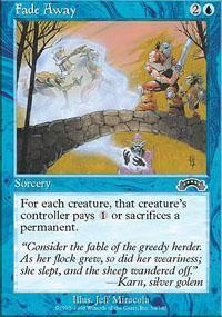 Fade Away Magic Card