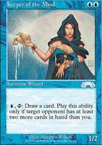 Keeper of the Mind Magic Card
