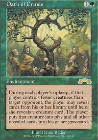 Oath of Druids Magic Card