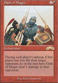 Oath of Mages Magic Card