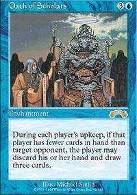 Oath of Scholars Magic Card