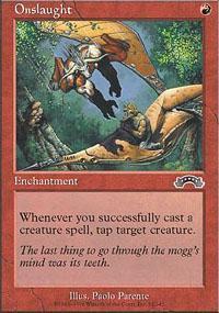 Onslaught Magic Card